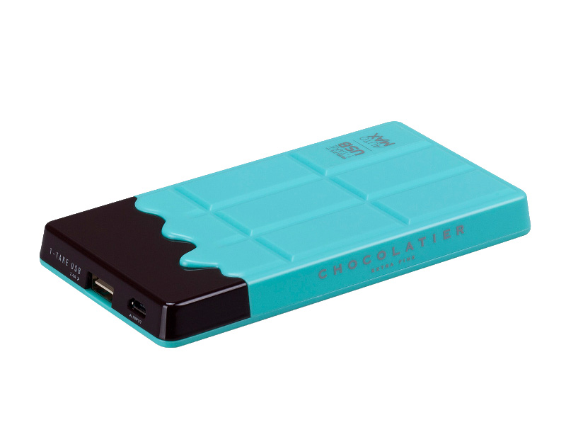 Аккумулятор MOMAX iPower Chocolatier 7000 mAh Turquoise