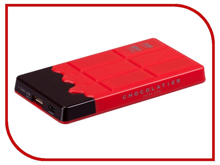 Аккумулятор MOMAX iPower Chocolatier 7000 mAh Red<br>
