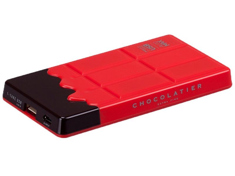 Аккумулятор MOMAX iPower Chocolatier 7000 mAh Red