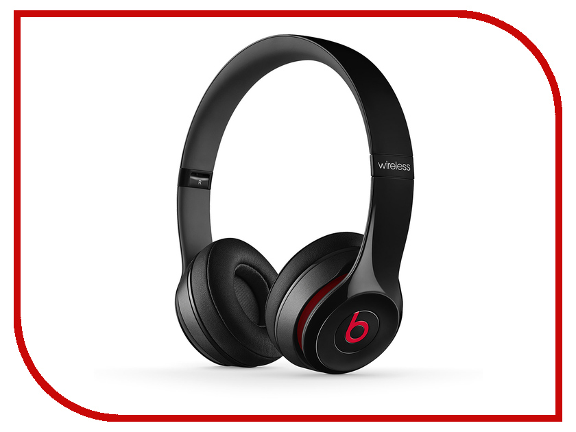 Гарнитура Beats Solo 2 Wireless Black MHNG2ZE/A
