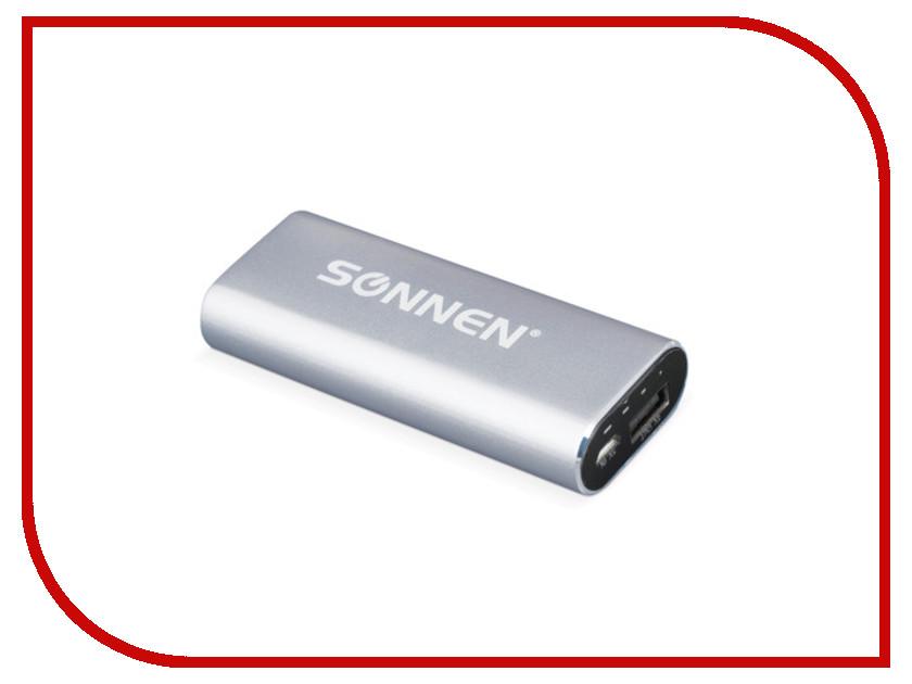 Аккумулятор SONNEN PB-2600 2600 mAh 261911 Silver<br>