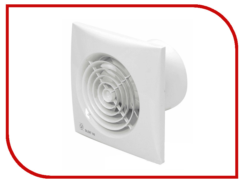 Вытяжной вентилятор Soler & Palau SILENT-100 CZ от Pleer