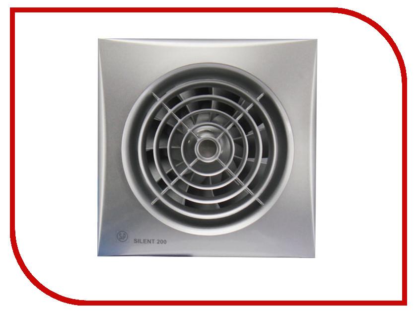 Вытяжной вентилятор Soler & Palau SILENT-200 CZ Silver
