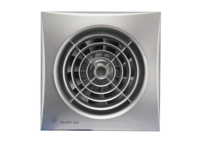 Вытяжной вентилятор Soler & Palau SILENT-200 CZ Silver от Pleer