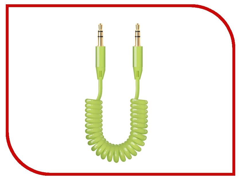 Аксессуар Deppa AUX 3.5mm 2m Green 72184