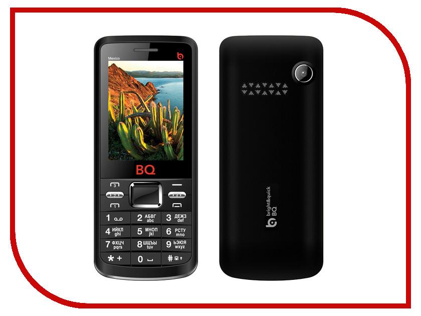 Сотовый телефон BQ BQM-2408 Mexico Black