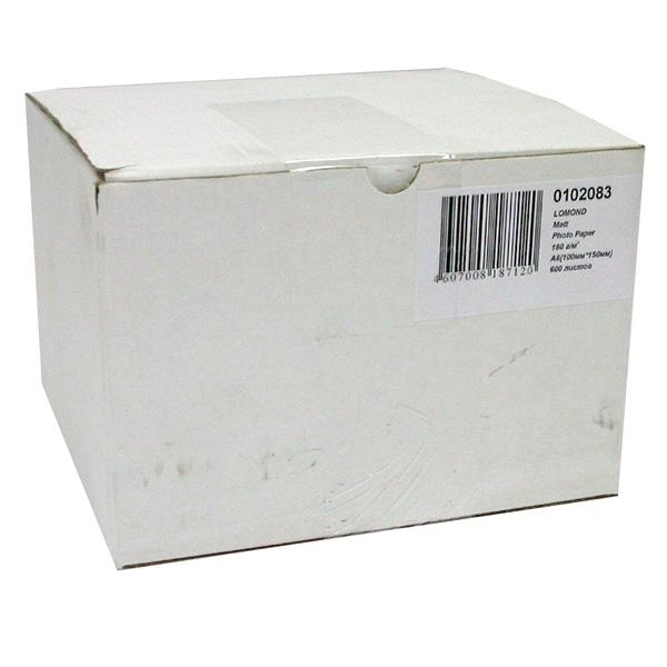 Фотобумага Lomond 180g/m2 матовая 600 листов 102083