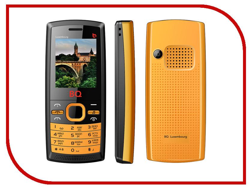 Сотовый телефон BQ BQM-1816 Luxembourge Black-Orange