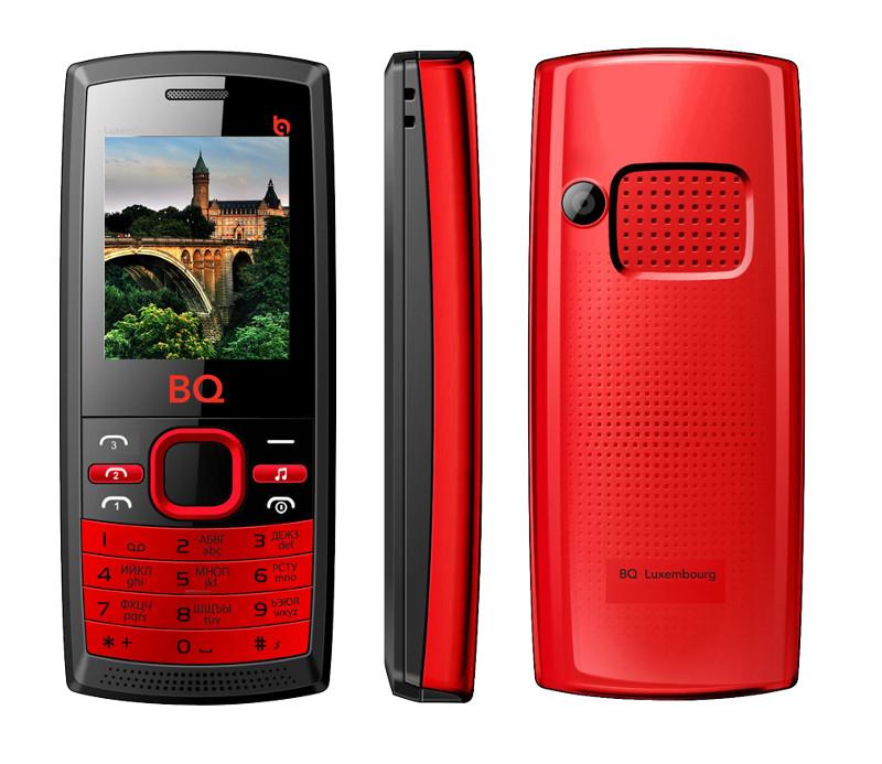 Сотовый телефон BQ BQM-1816 Luxembourge Black-Red<br>