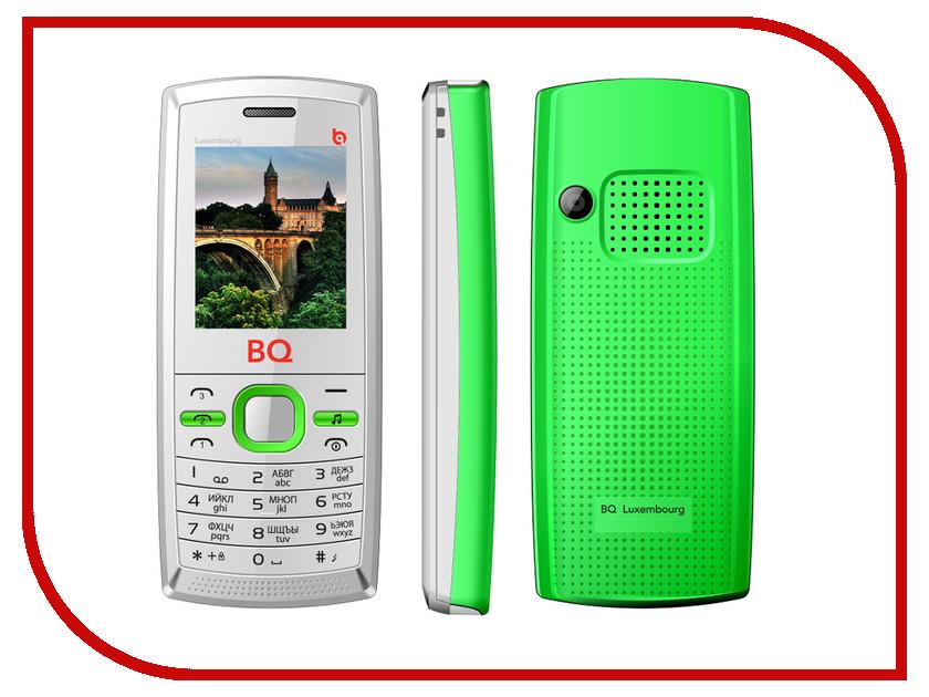 Сотовый телефон BQ BQM-1816 Luxembourge White-Green