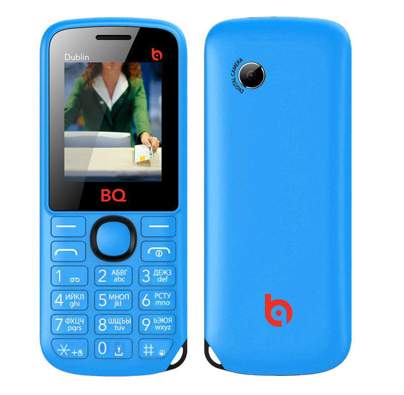 Сотовый телефон BQ BQM-1818 Dublin Blue<br>
