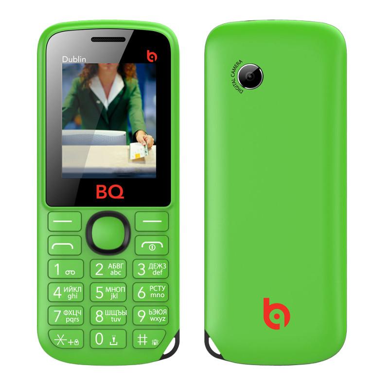 Сотовый телефон BQ BQM-1818 Dublin Green<br>