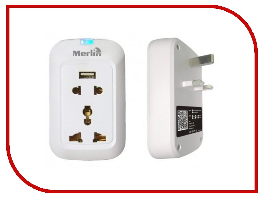 Контроллер Merlin Wi-Fi Smart Wall Socket