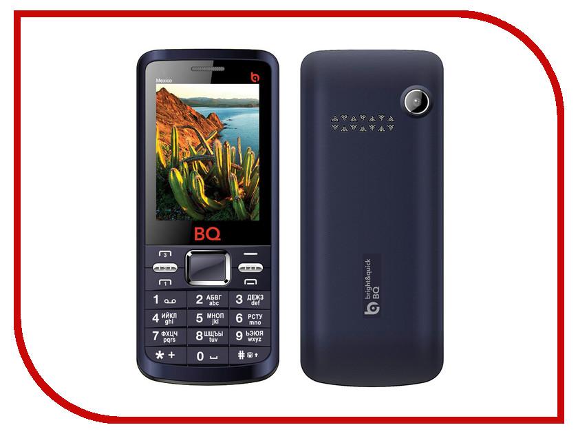 Сотовый телефон BQ BQM-2408 Mexico Blue