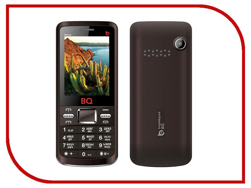 Сотовый телефон BQ BQM-2408 Mexico Brown<br>