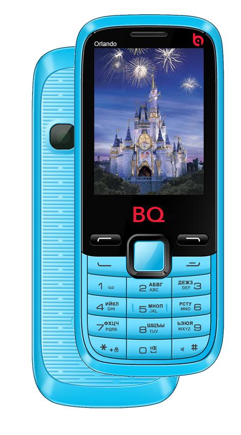 Сотовый телефон BQ BQM-2456 Orlando Blue<br>