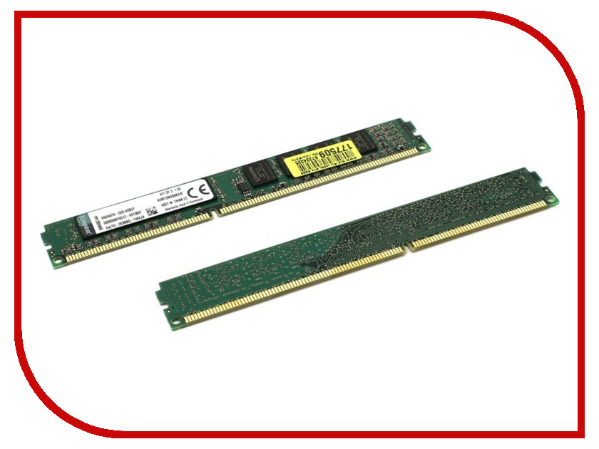 Фото Модуль памяти Kingston DDR3 DIMM 1333MHz PC3-10600 CL9 - KVR13N9S8K2/8