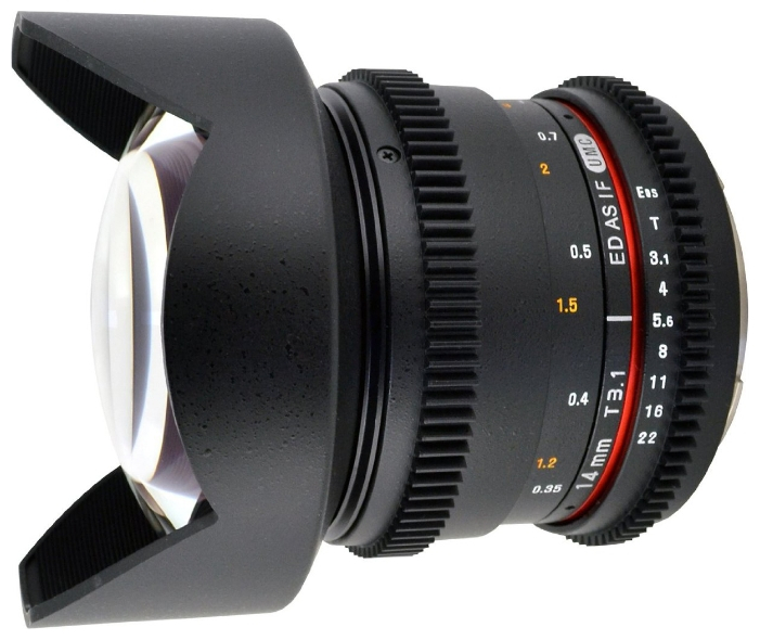 Объектив Samyang Canon M MF 14 mm T3.1 AS ED IF UMC-2 VDSLR II от Pleer