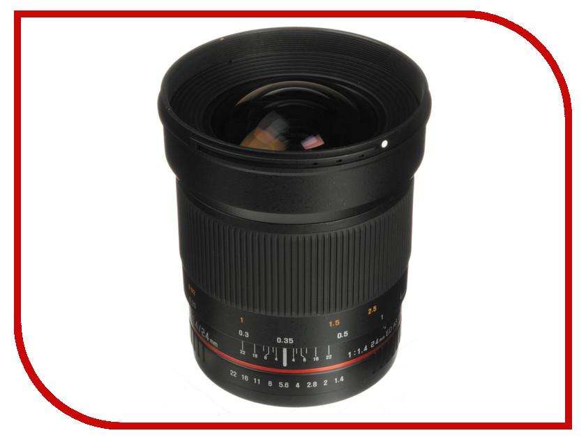 Объектив Samyang Canon M 24 mm f/1.4 ED AS UMC от Pleer
