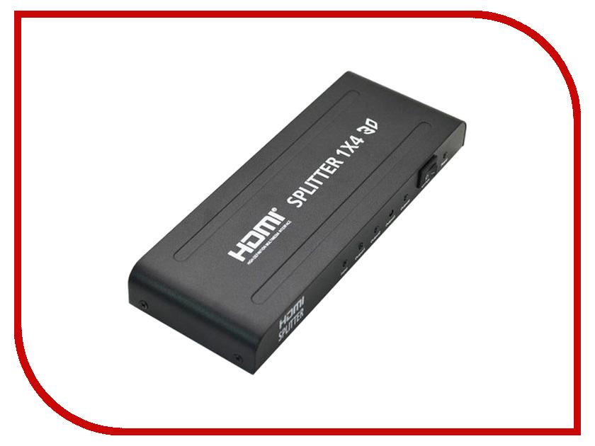 Аксессуар Orient HDMI 1.4 Splitter 1x4 HSP0104H<br>
