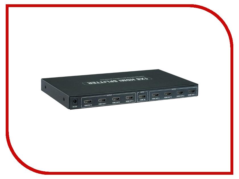все цены на  Аксессуар Orient HDMI 4K Splitter 1x8 HSP0108H  онлайн