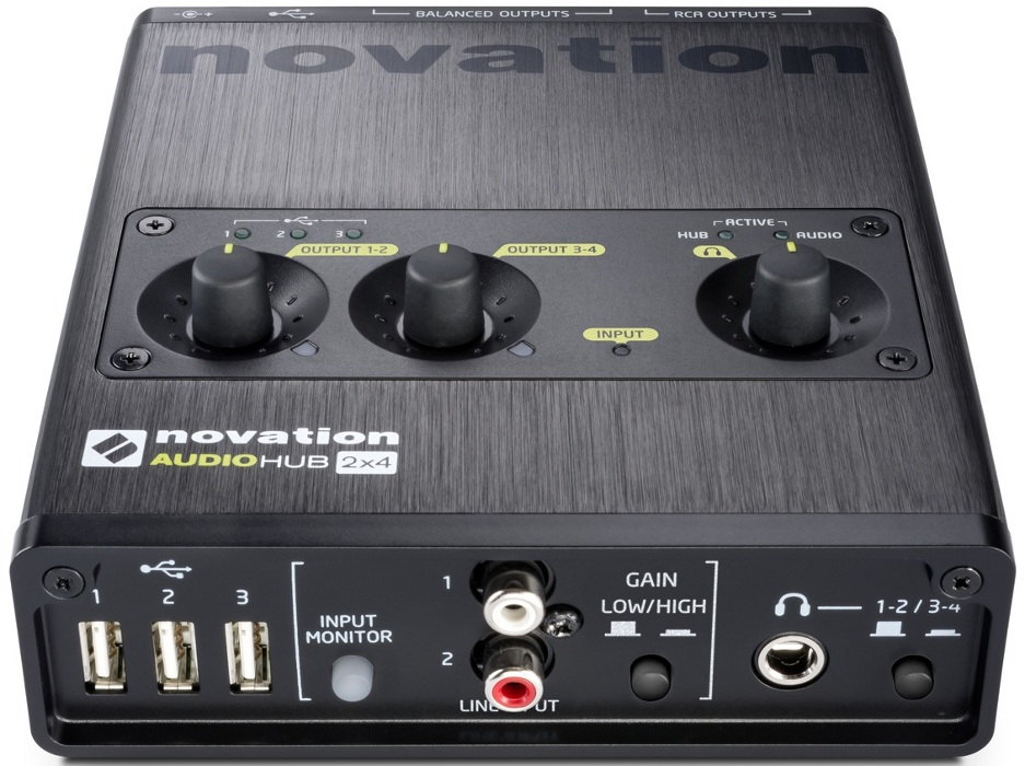 Аудиоинтерфейс Novation Audiohub 2x4