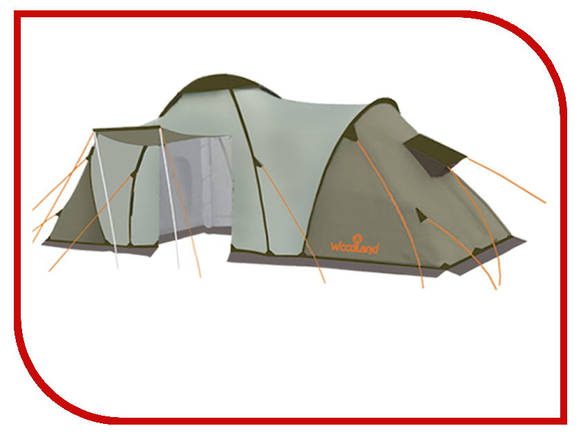 Палатка WoodLand Camp 4 TK-222 le camp le950bwjva74 le camp