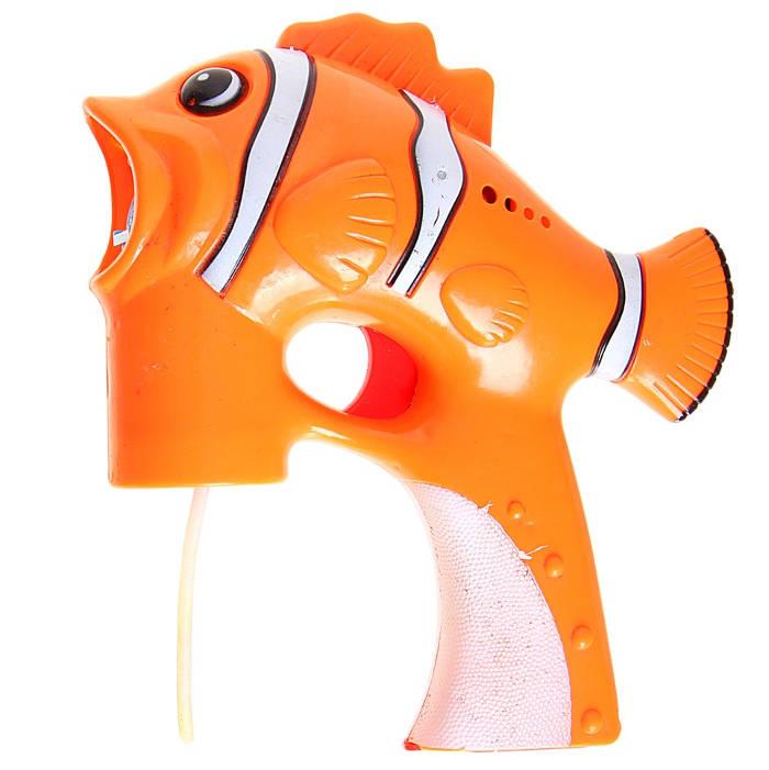 Мыльные пузыри Страна Карнавалия Яркая рыбка-пистолет 728880<br>