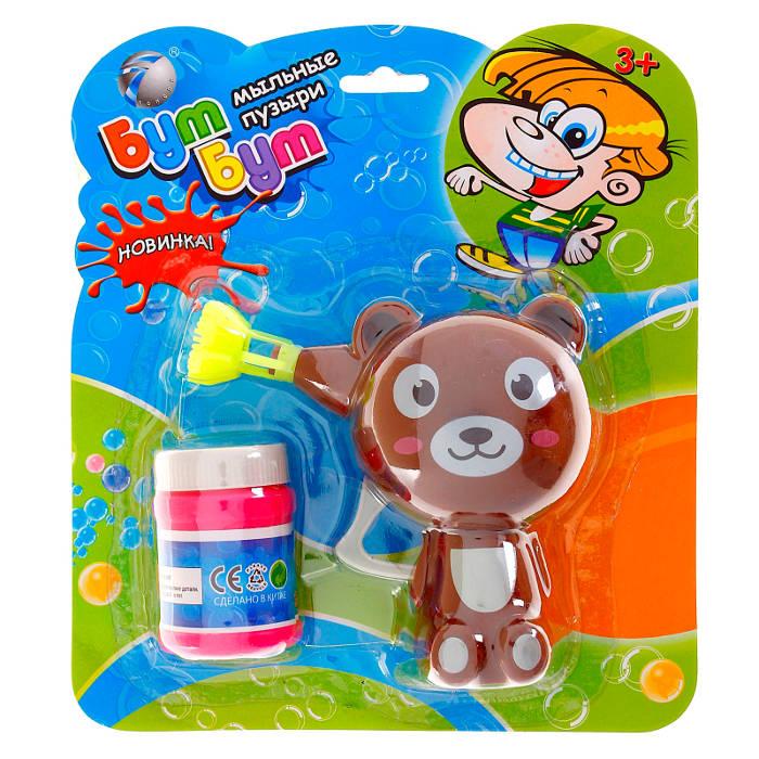 Мыльные пузыри Tongde Бум Бум - Мишка 1004190<br>