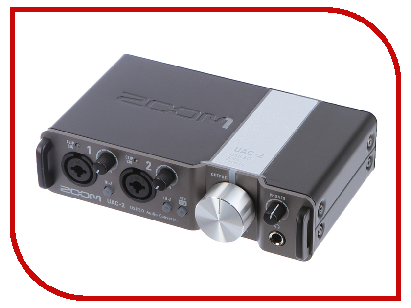 Двухканальный интерфейс Zoom UAC-2