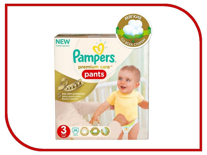 Подгузники Pampers Premium Care Midi 6-11кг 56шт 4015400681182<br>