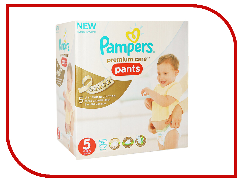 Подгузники Pampers Premium Care Junior 12-18кг 20шт 4015400681243