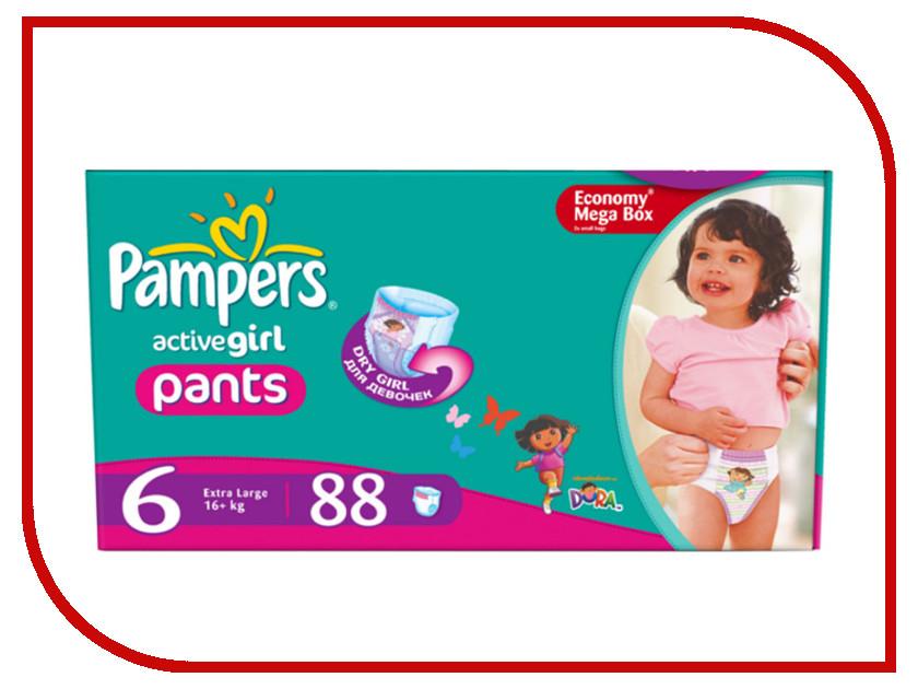 Подгузники Pampers Active Girl Extra Large 16+кг 88шт 4015400617464