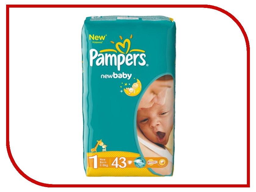Подгузники Pampers New Baby-Dry