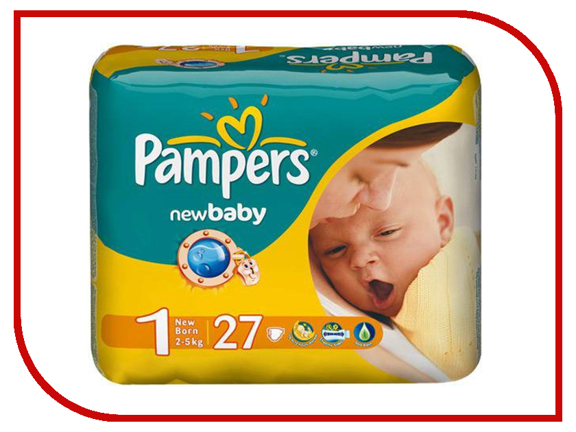 Подгузники Pampers New Baby-Dry Newborn 2-5кг 27шт 4015400264453 blade propeller spare part cw ccw for cheerson cx 10 cx 10a