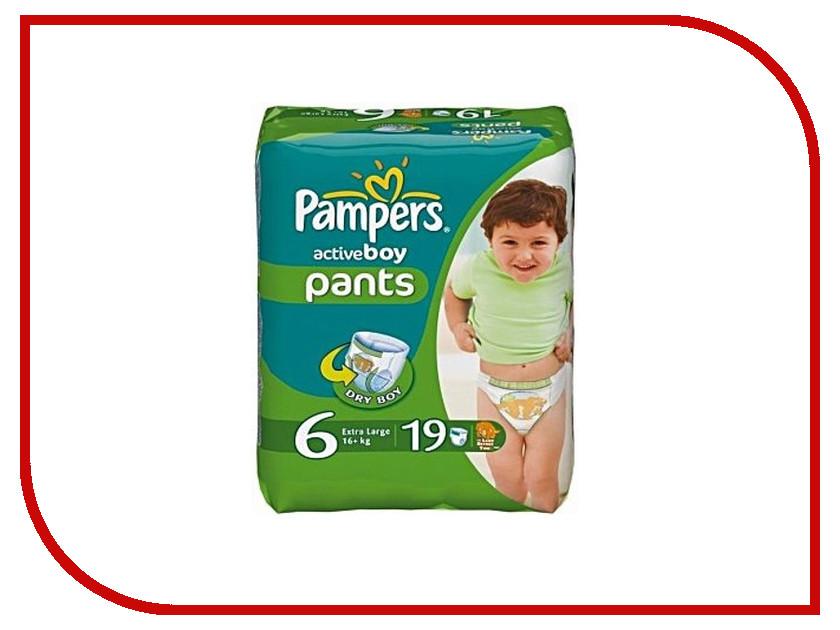 Подгузники Pampers Active Boy Extra Large 16+кг 19шт 4015400673378