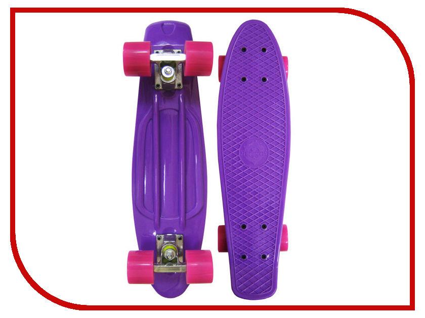 Скейт EcoBalance Cruiser Board Purple Red