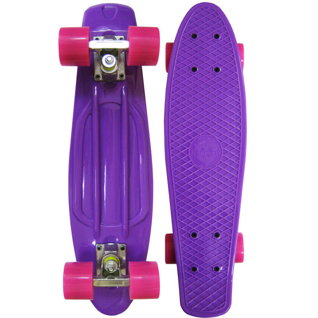 Скейт EcoBalance Cruiser Board Purple Red