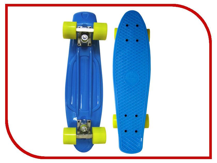 Скейт EcoBalance Cruiser Board Blue Yellow