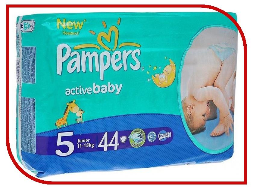 Подгузники Pampers Active Baby-Dry Junior 11-18кг 44шт 4015400264699<br>