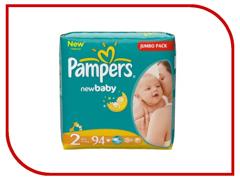Подгузники Pampers New Baby-Dry Mini 3-6кг 94шт 4015400264613