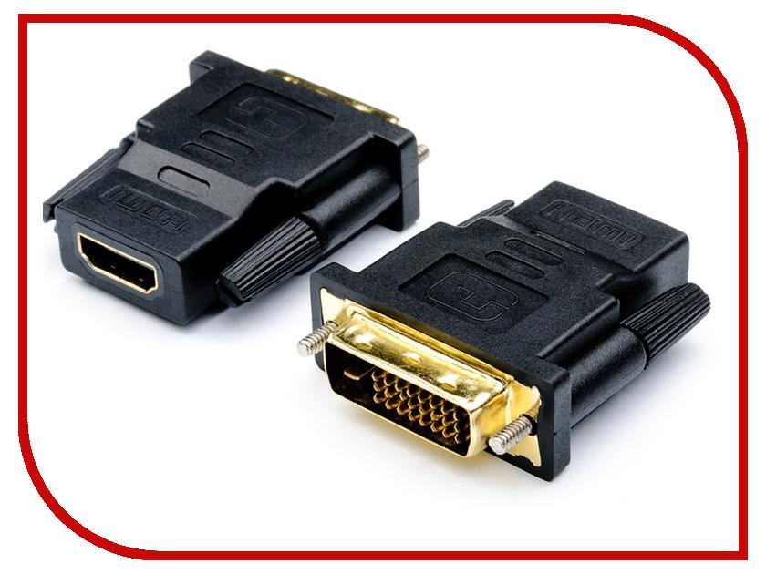 Аксессуар ATcom DVI M - HDMI F Black АТ11208 аксессуар nexport hdmi m dvi f black np a df hm