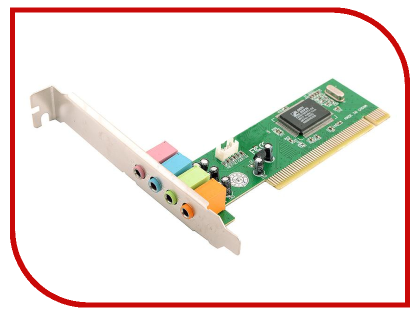 Звуковая карта ATcom PCI 4CH AT10715 контроллер atcom pci usb at7803