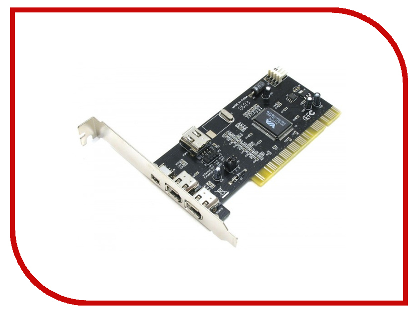 Контроллер ATcom PCI-1394 FireWire AT7804 контроллер atcom pci usb at7803