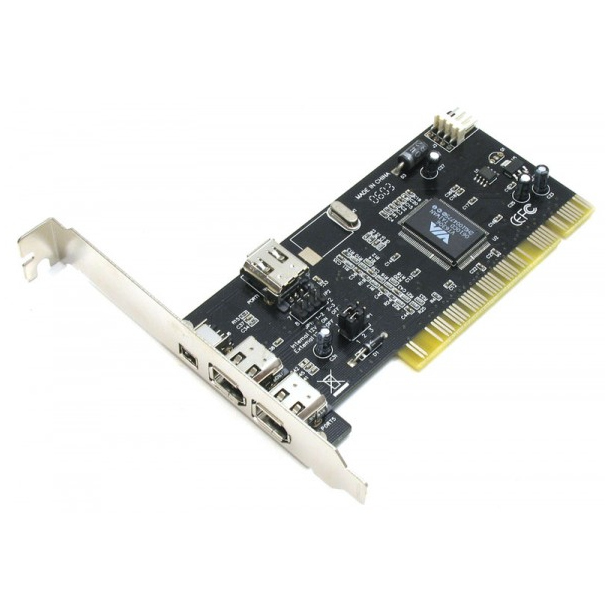 Контроллер ATcom PCI-1394 FireWire AT7804
