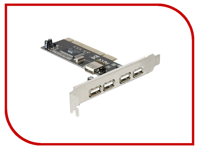 Контроллер ATcom PCI-USB AT7803 контроллер atcom pci usb at7803