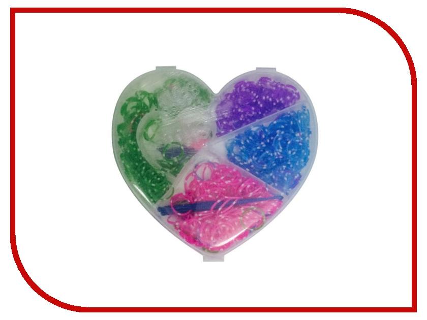Набор для творчества DIY Loom Bands Маленькое сердечко / Mini Love Set K-12