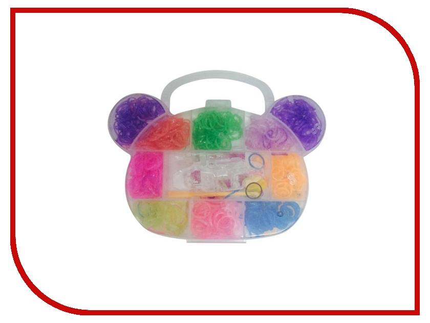 Набор для творчества DIY Loom Bands Мишутка / Mini Teddy Set K-10