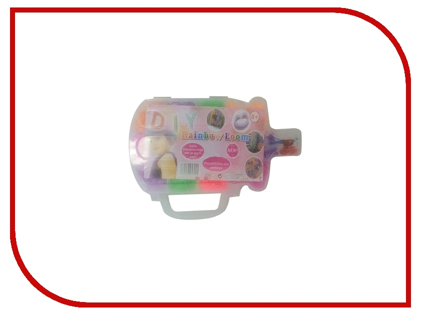 Набор для творчества DIY Loom Bands Бутылочка / Bottle Set K-28