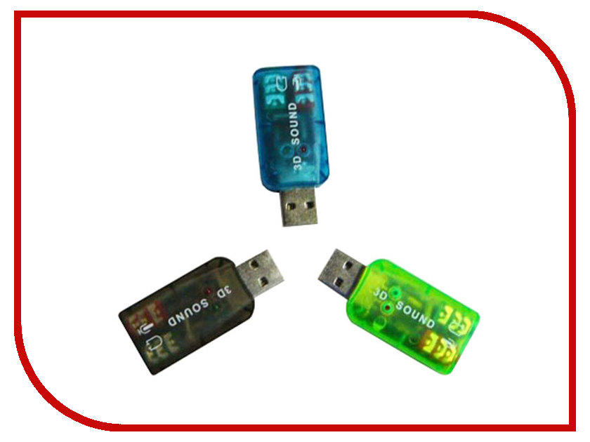 Звуковая карта ATcom USB-sound Card 5.1 3D Sound AT7807 new usb 2 0 3d virtual 7 1 channel sound card adapter audio cable for pc windows oct 25